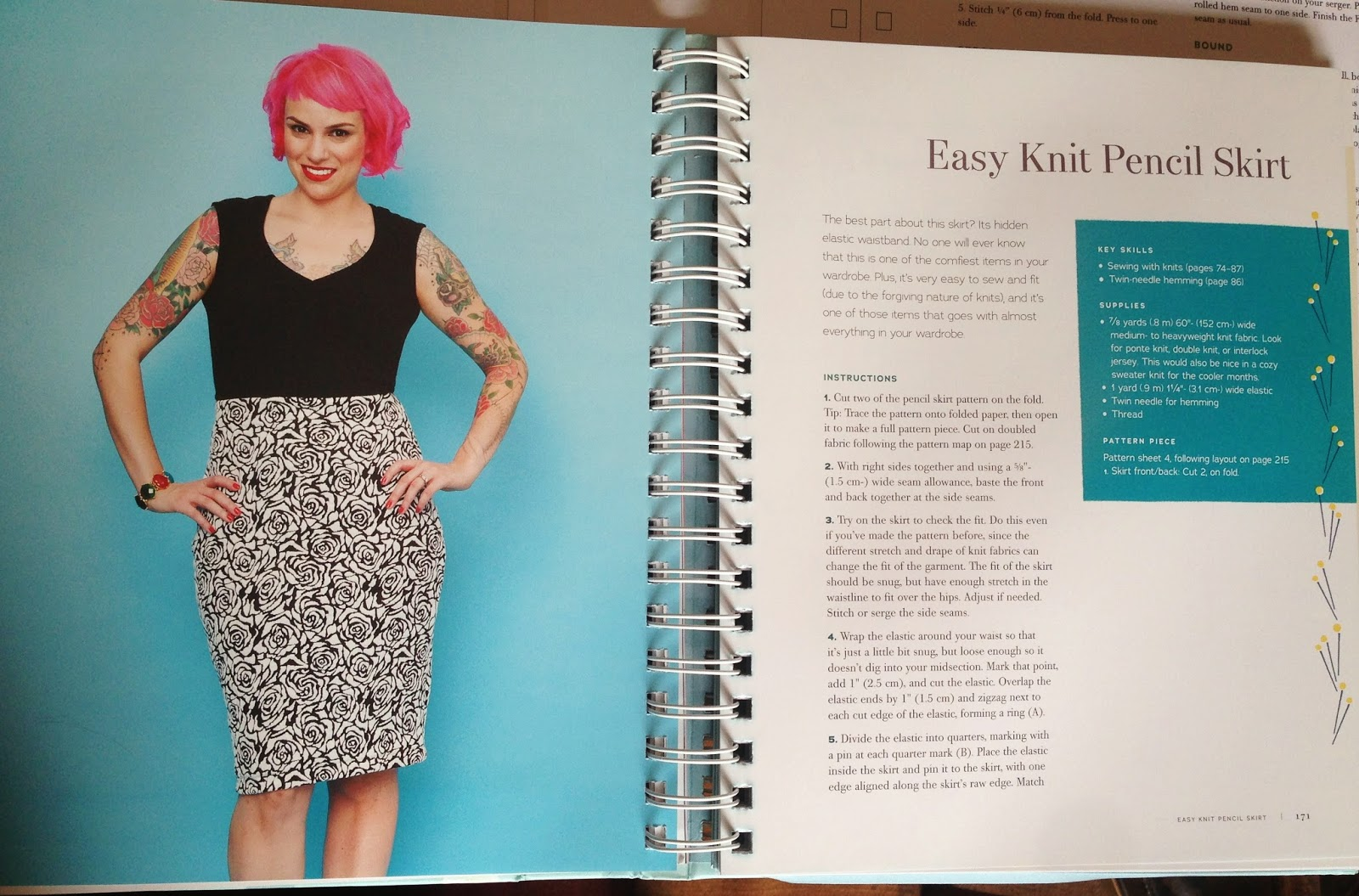 Gertie\'s New Blog for Better Sewing: Comfiest Ever Pencil Skirt