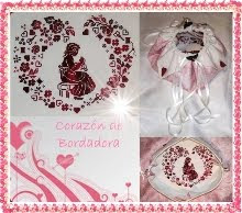 Corazón de bordadora