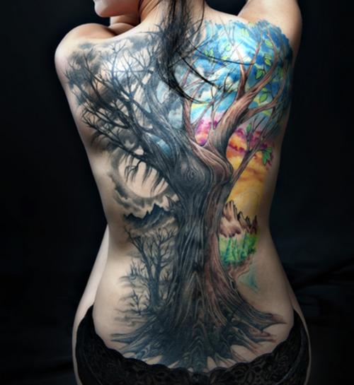 Tuareg Ink: Incríveis Tatuagens Nas Costas