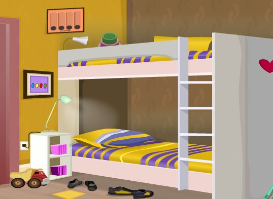 GraceGirlsGames Bunk Bedroom Escape