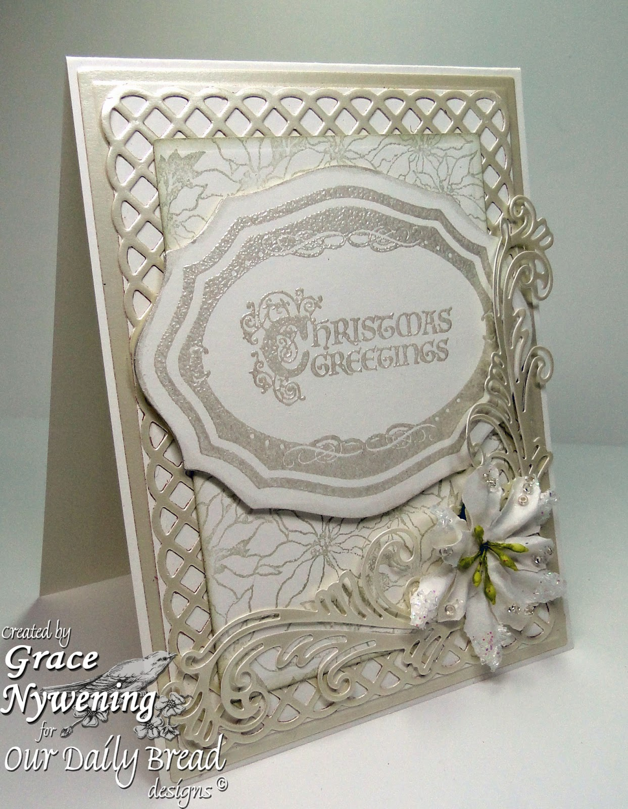 Th ink ing of you christmas greetings on the elegant side for Elegant christmas card messages