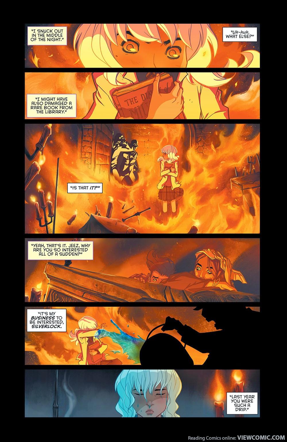 Gotham Academy 003 (2014) ……………………