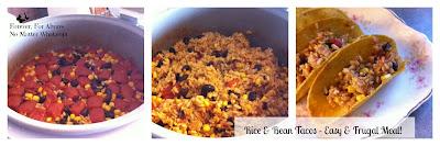 Rice Bean Tacos Rice Cooker