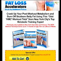 Exclusive Offer - Fat Loss Accelerators