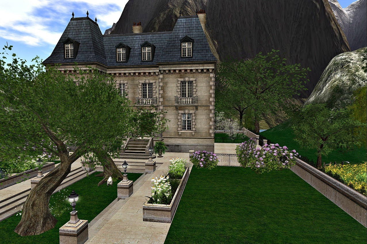 Sldesignnotebook French Country Day Chateau La Lutiniere
