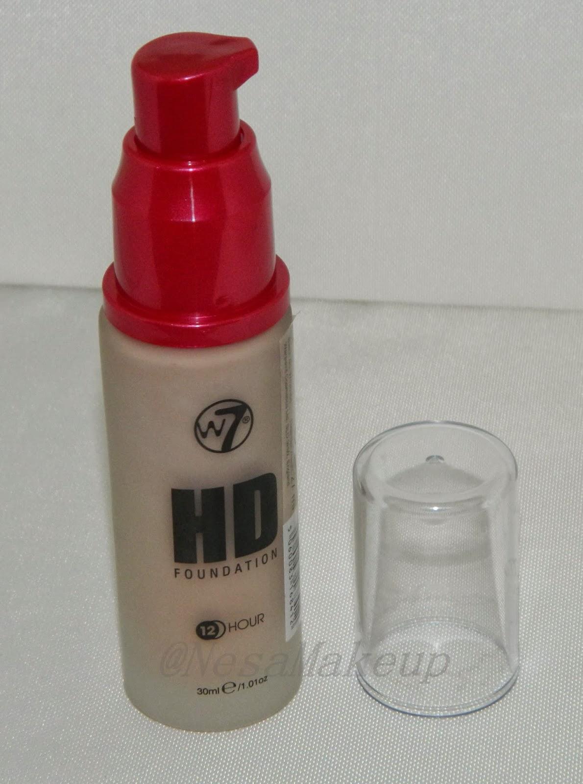 base de maquillaje w7