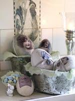 Великденска декорация за дома в ретро стил