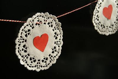 Valentijnsdag slinger