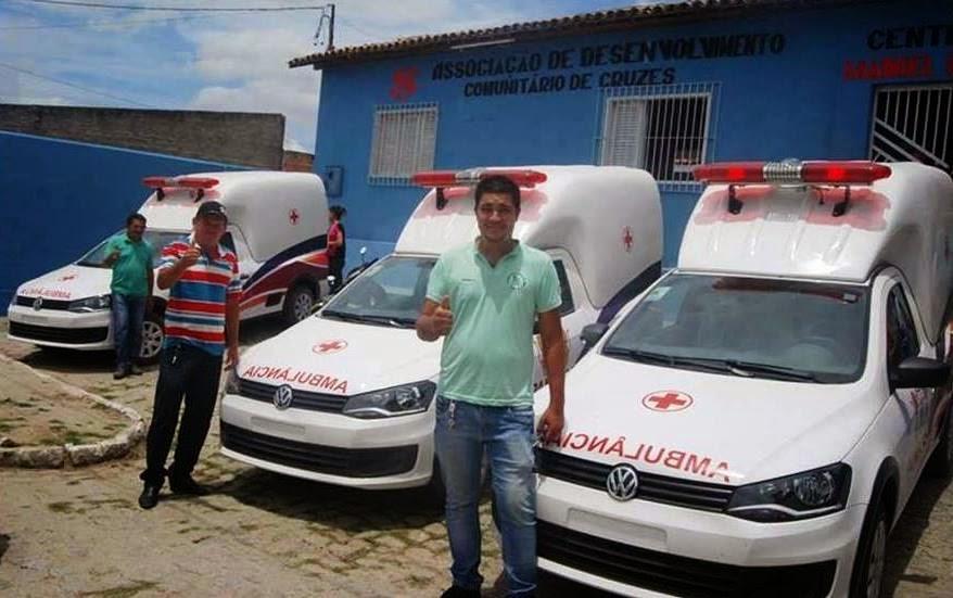 Novas ambulâncias zero quilômetro para atender as necessidades da população panelense.