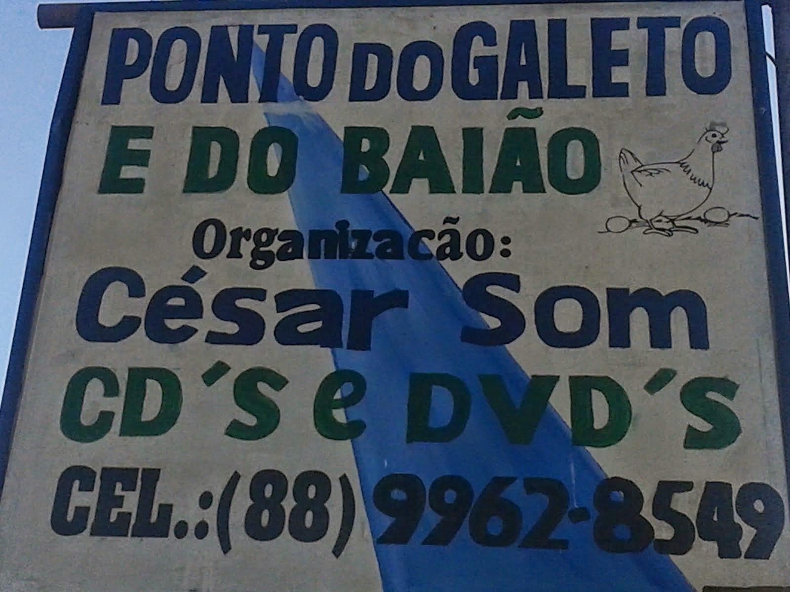 QUER COMER BEM?VISITE PONTO DO GALETO E DO BAIÃO NA CIDADE DE SÃO BENEDITO É BOM DEMAIS...