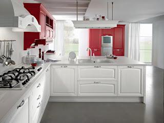 Cucina Moderna Rossa E Bianca Ar3 ~ Ispirazione design casa