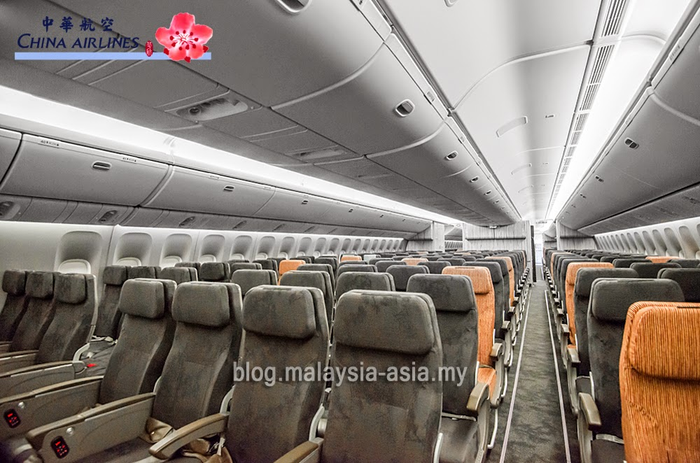 China Airlines New Boeing 777-300ER Fleet - Malaysia Asia
