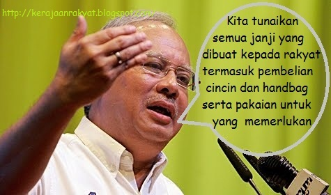 Najib: Perbedaan antara kita (BN) dan pakatan rakyat