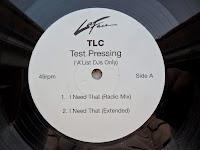 TLC - I Need That - U In Me (Testpressing VLS) (2001)