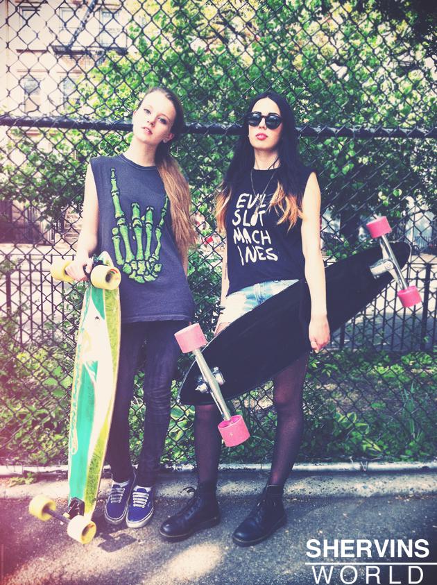 shervins world last summer hipster girls