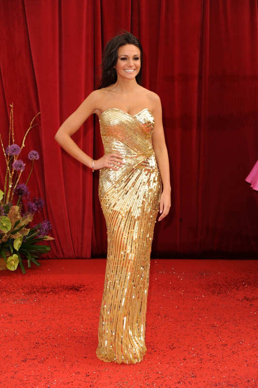 Michelle Keegan Soap Awards Red Carpet Pictures