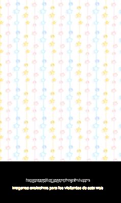 papel decorado con estrellas