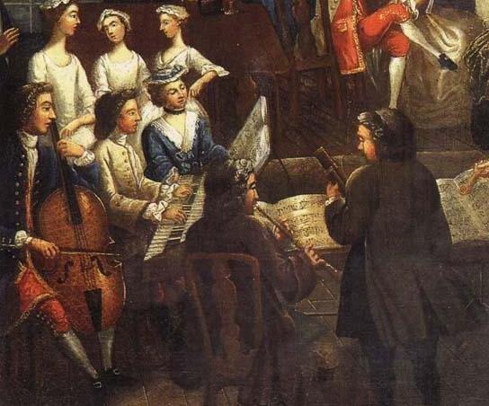 Corso unitre storia della musica la forma sonata alla for Bach musique de chambre