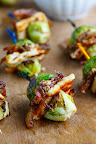 Roasted Brussels Sprouts and Halloumi Sliders