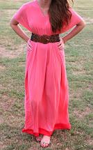 DIY Boho Maxi Dress