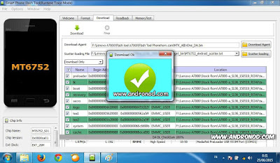 Tutorial Mudah Cara Flashing Lenovo A7000