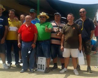 Club de Tiro Aranjuez tirada en Quismondo