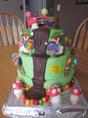 Creative Cakes By Angie Willy Wonka Cake