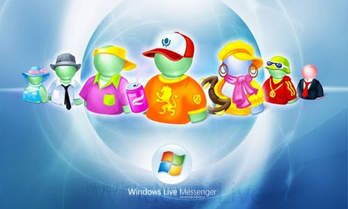 msn live messenger poster