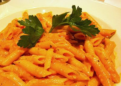 plan on making Penne alla Vodka with chicken and broccoli tonight ...