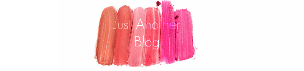 Just Another Blog...