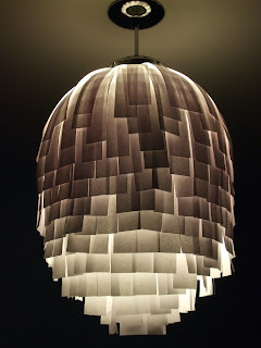diy lampshade -- upcycle it!