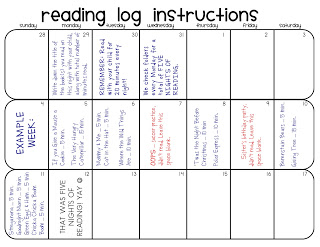 Read * Write * Share: Reading Logs (English and Spanish Samples)