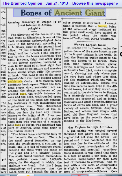 1913.01.24 - The Branford Opinion