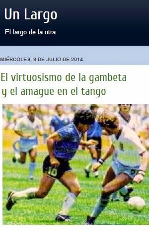 Ironía y repentismo en el fútbol y en el tango