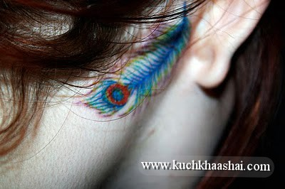 Behind The Ear Tattoo Design For Girls | Kuch Khaas Hai...