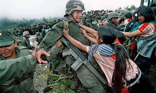 Domina la impunidad en violaciones por militares en México