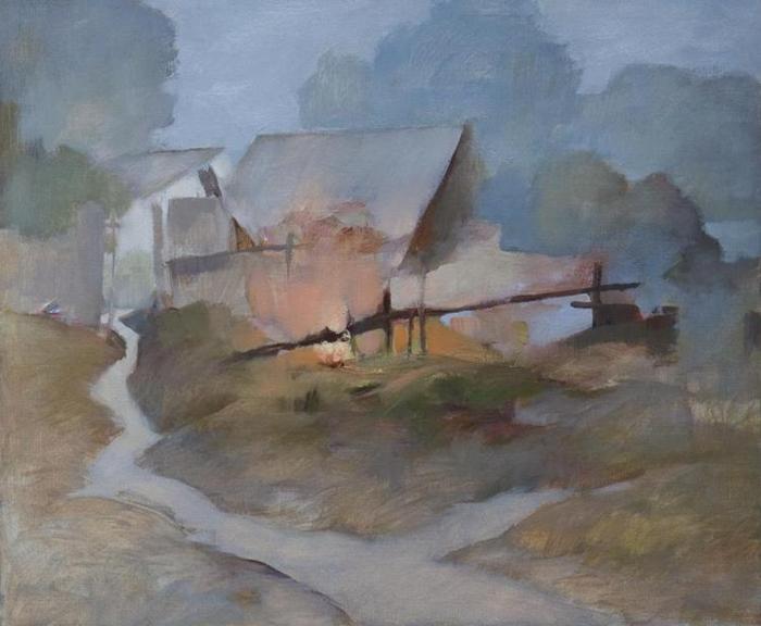 Alexander Zavarin 1954 | Belarusian Landscape painter