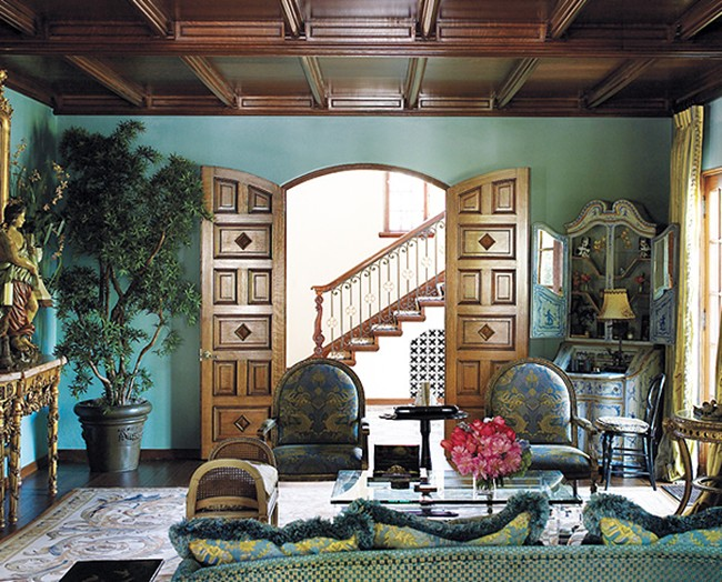 Beautiful Abodes Using Teal