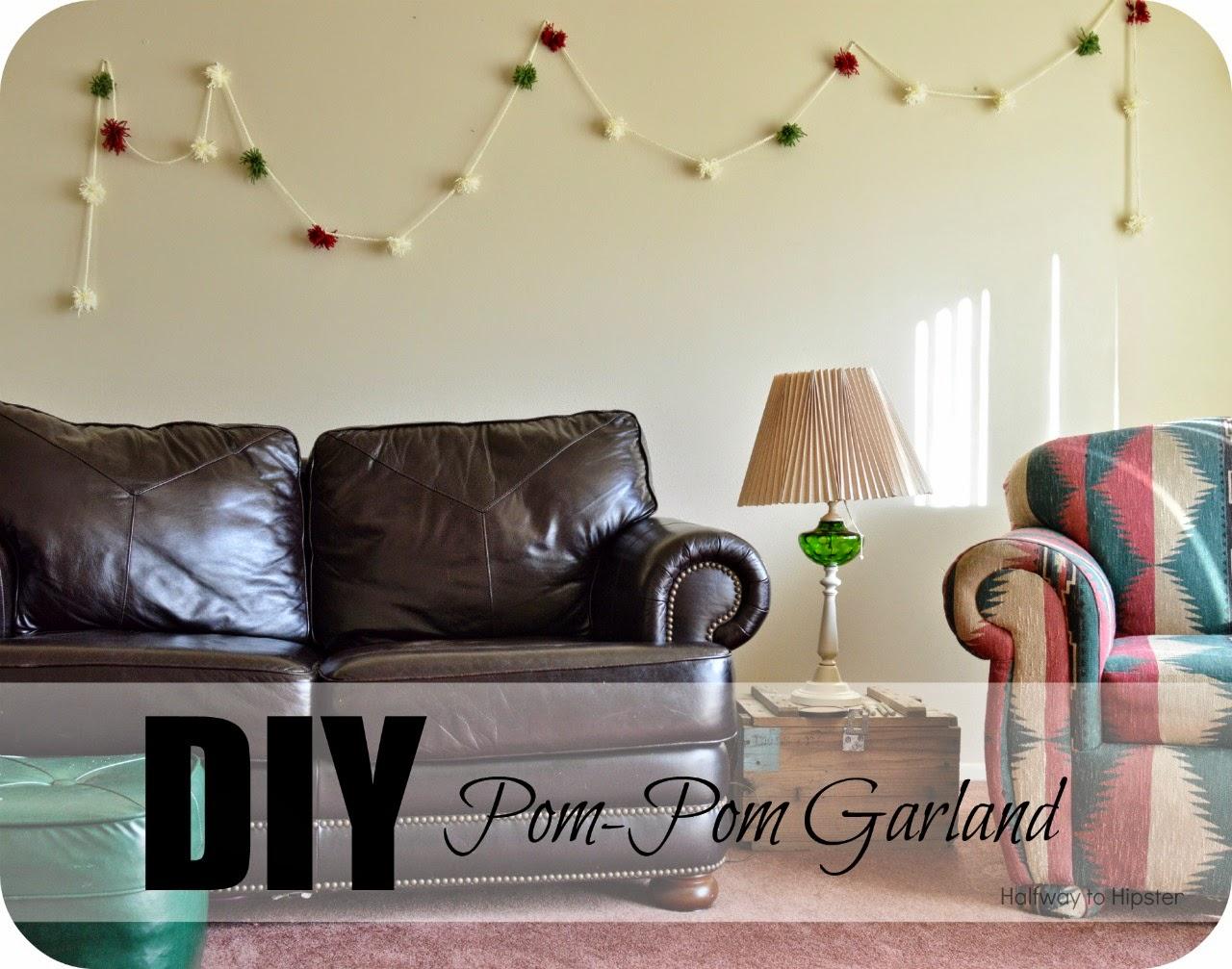 DIY Pom-Pom Garland
