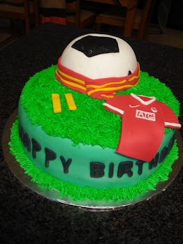 Manchester United Cake
