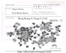 Plastic Oval Beads Button Supplier - Hong Kong Li Seng Co Ltd