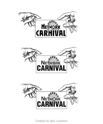 realistic illustrative logo (carnival ferris wheel)