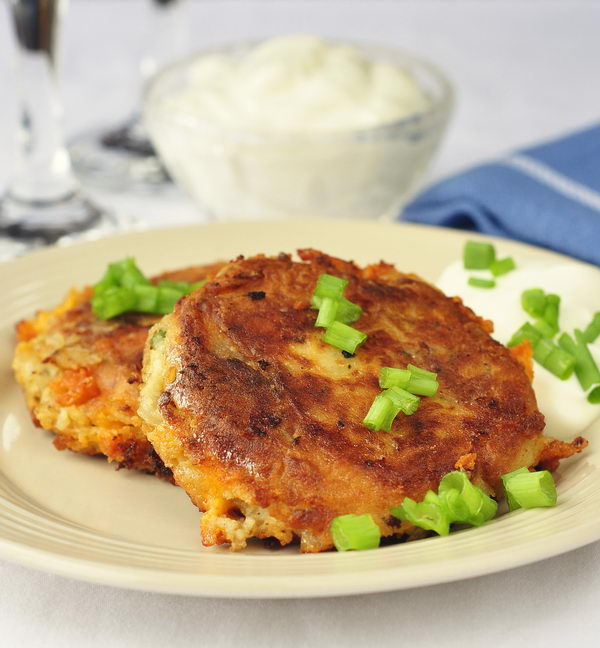 ... According to Lenetta: Bacon Cheddar and Onion Potato Cakes Review