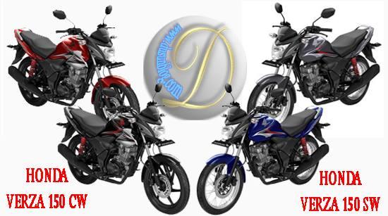 harga dan spesifikasi Honda Verza 150 CW/SW