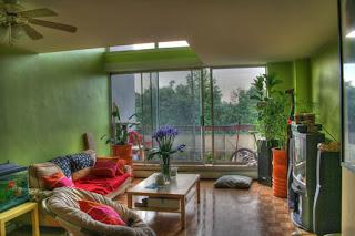 dekorasi+ruang+tamu+warna+hijau Warna Hijau Ruang Keluarga