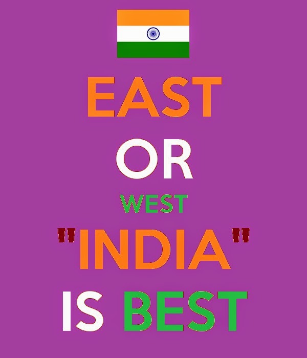 east or west india is the best essay