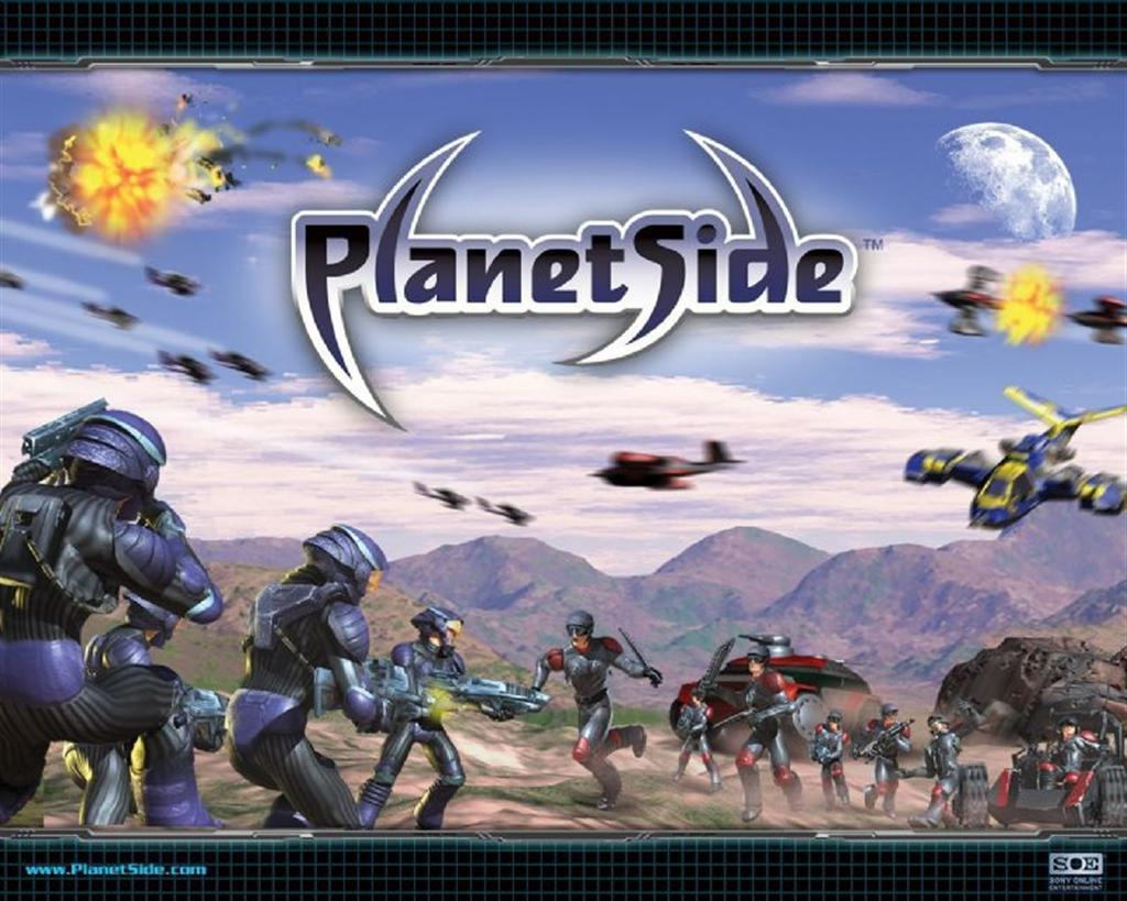 PlanetSide HD & Widescreen Wallpaper 0.878000553329423