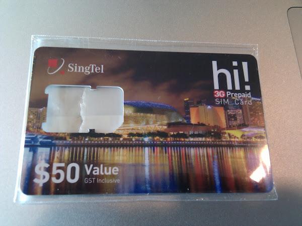 APN Info for Singtel's 3G in Singapore
