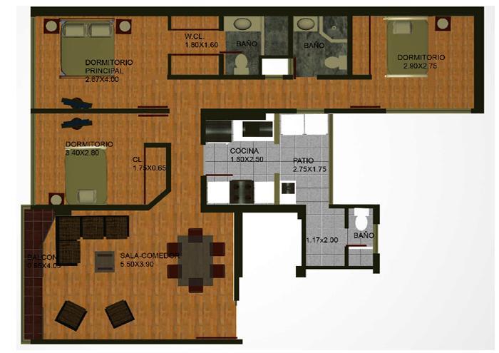 Planos de casas modelos y dise os de casas planos de - Fotos de casas en forma de l ...