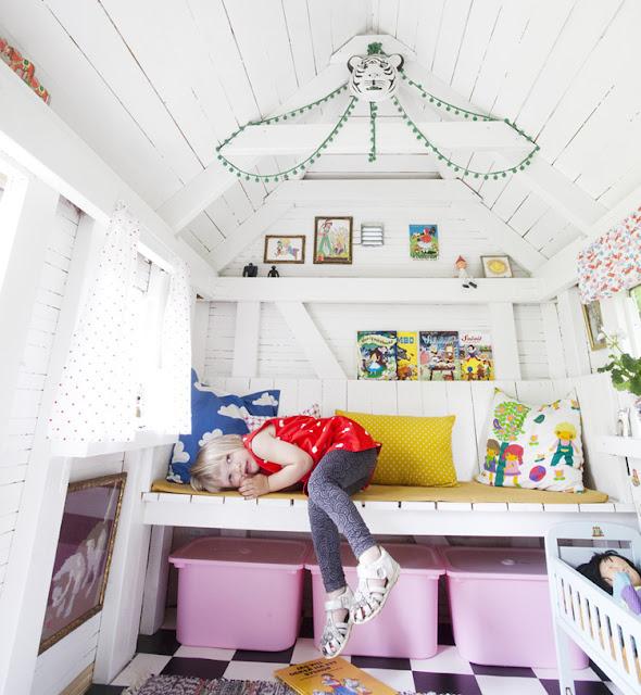 Детские домики своими руками (59 фото варианты игровых) 18
